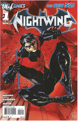 Nightwing #1 Second printing. Click for values.