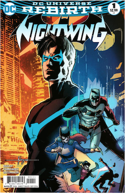 Nightwing #1 (2016). Click for values.