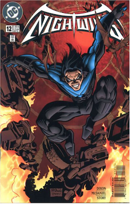 Nightwing #12. Click for values.