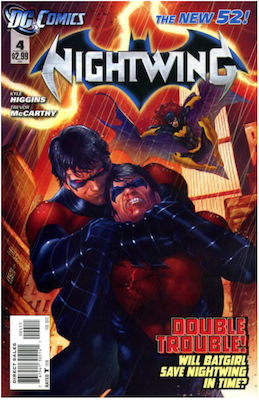 Nightwing #4. Click for values.