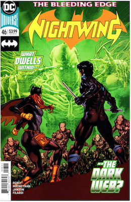 Nightwing #46 Variant cover. Click for values.