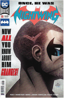 Nightwing #50. Click for values.