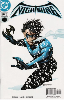 Nightwing #54. Click for values.