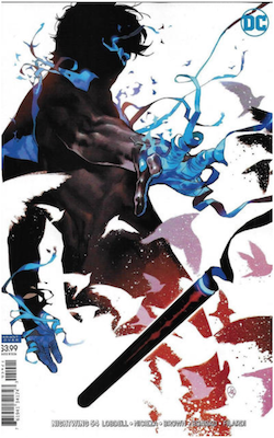Nightwing #54 Variant cover. Click for values.