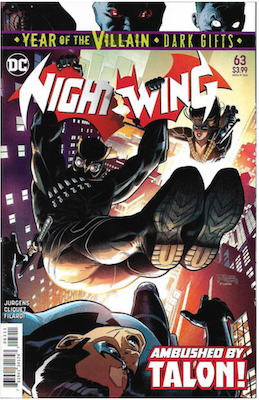 Nightwing #63 Variant cover. Click for values.