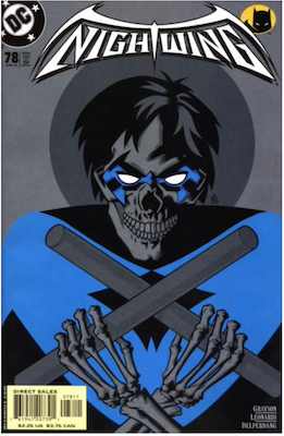 Nightwing #78 Black and Bruised coupon. Click for values.
