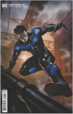 Nightwing #78 Second printing. Click for values.