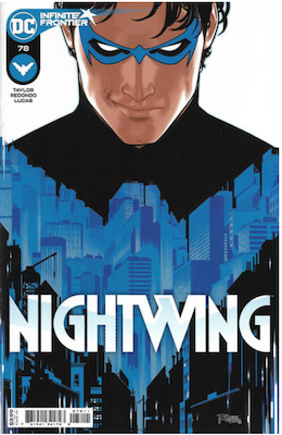 Nightwing #78 Variant cover. Click for values.