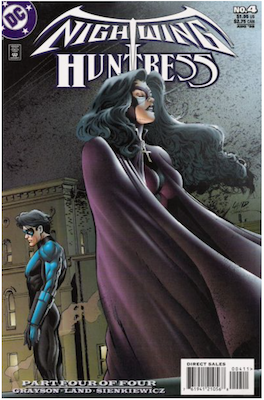 Nightwing and Huntress #4 (1998). Click for values.
