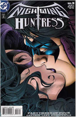 Nightwing and Huntress #3 (1998). Click for values.
