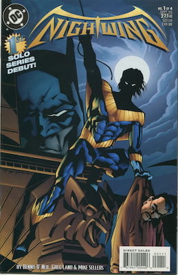 Nightwing Limited Series #1 (1995). Click for values.