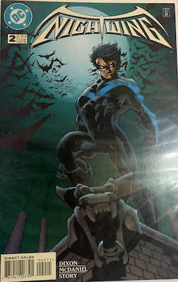 Nightwing Limited Series #2. Click for values.