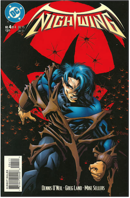 Nightwing Limited Series #4. Click for values.