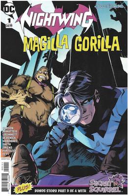 Nightwing/Magilla Gorilla Special (2018). Click for values.