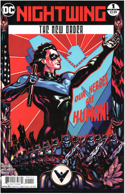 Nightwing: The New Order #1. Click for values.