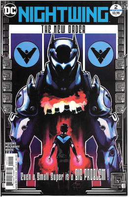 Nightwing: The New Order #2. Click for values.