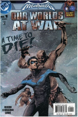 Nightwing: Our Worlds at War (2001). Click for values.