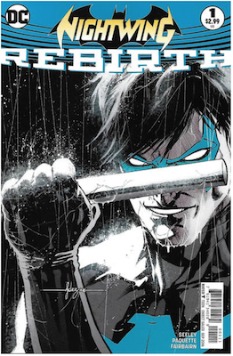 Nightwing: Rebirth (2016). Click for values.