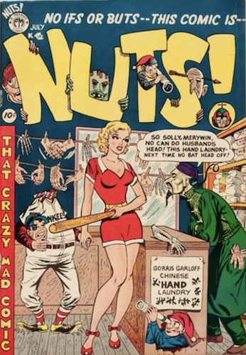 Nuts! #3: Marilyn Monroe parody cover. Click for values