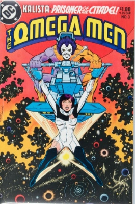 Omega Men #3 (1983): 1st Appearance of Lobo. Click for value