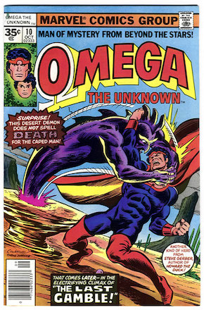 Omega the Unknown #10 Marvel 35c Variants