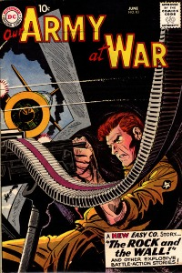 Our Army at War #83 (first Sgt. Rock) is a key war issue. Click for value