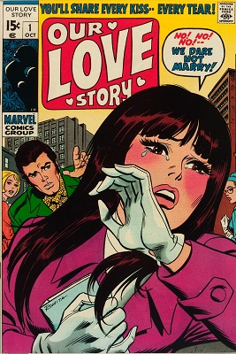 Our Love Story #1: Rare Marvel romance comic; First issue of the series. Click for value