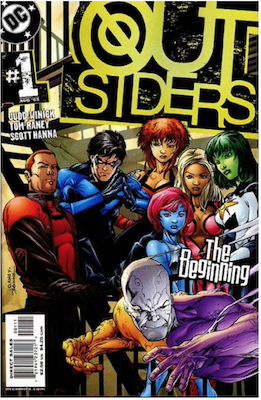 Outsiders #1 (2003). Click for values.