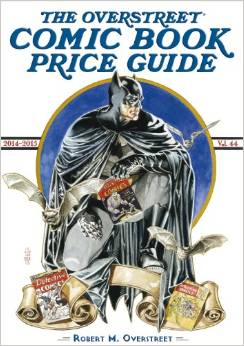 Click to order the 44th edition of the Overstreet Comic Book Price Guide from Amazon