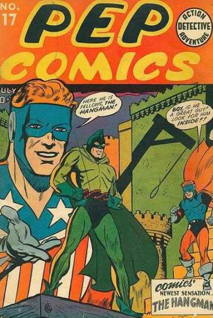 Pep Comics #17. Click for current values.