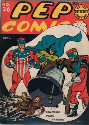 PEP Comics #26: First Appearance of Veronica Lodge. Click for values