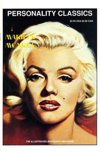 Personality Classics #2: Marilyn Monroe cover. Click for values