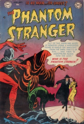 Phantom Stranger #1: Origin and First Appearance. Click for values