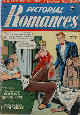 Pictorial Romances #24. Click for values