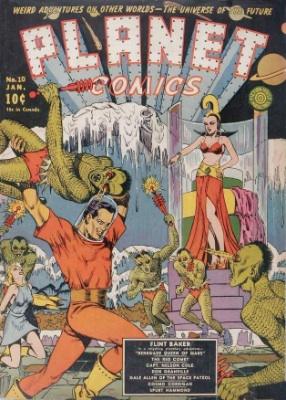 Click for value of Planet Comics #10