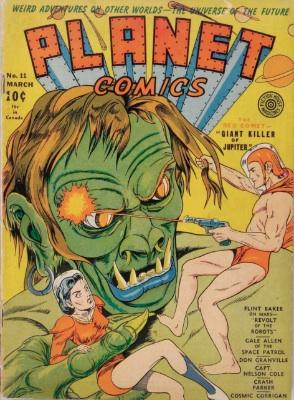 Click for value of Planet Comics #11
