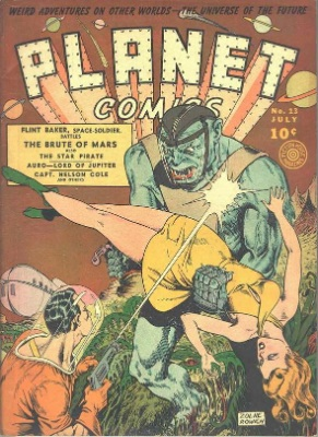 Click for value of Planet Comics #13