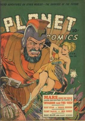 Click for value of Planet Comics #16