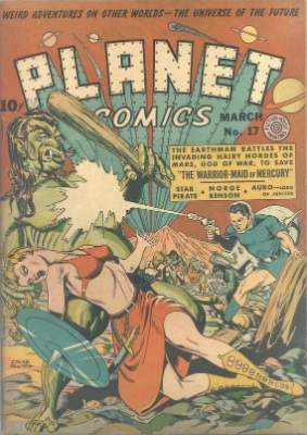 Click for value of Planet Comics #17