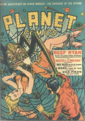 Click for value of Planet Comics #19