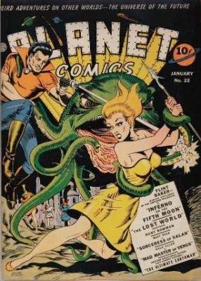 Click for value of Planet Comics #22
