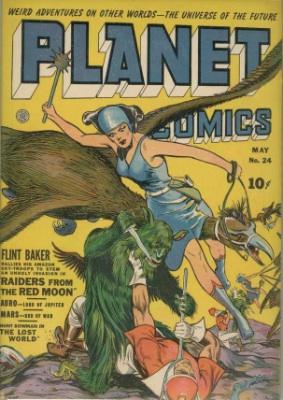 Click for value of Planet Comics #24