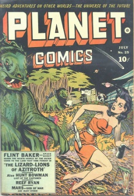 Click for value of Planet Comics #25