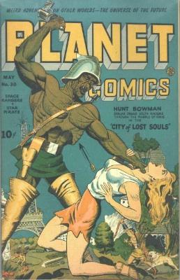 Click for value of Planet Comics #30
