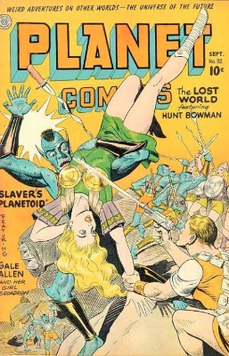 Planet Comics #32: Slaver's Planetoid. Click for values