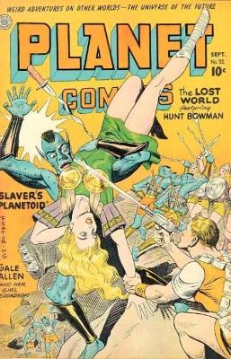 Planet Comics #32: Slaver's Planetoid. Click for values