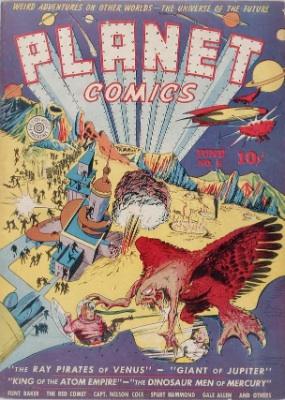 Click for current market value of Planet Comics #6