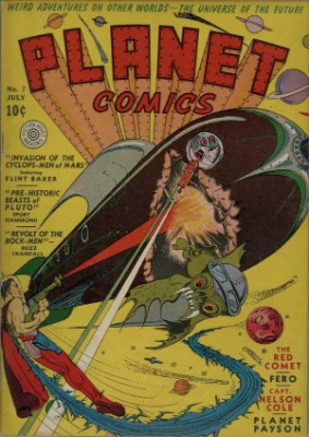 Click for current market value of Planet Comics #7