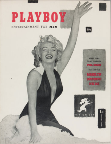 Playboy #1 (1953) is THE holy grail book for Marilyn Monroe collectors. Click for values