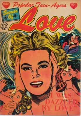 Popular Teen-Agers #23: L. B. Cole cover. Click for values